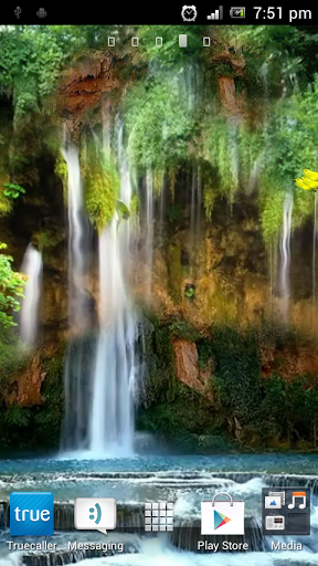 waterfall 4d live wallpaper android informer a very