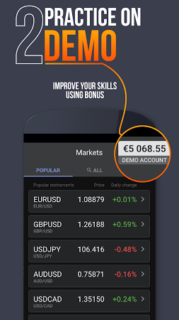 Forex demo account android 15