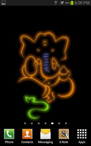 Ganesh Wallpaper For Android left