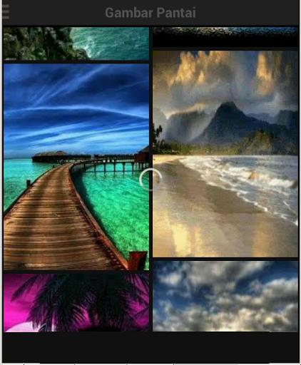 gambar wallpaper pantai android informer aplikasi