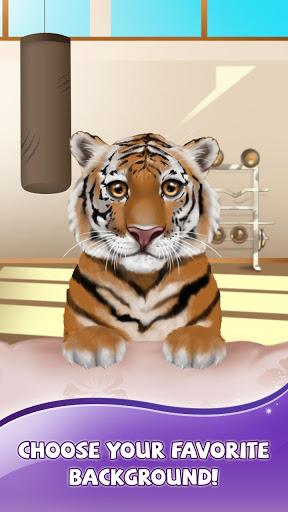 Обои на тигрята андроид живые