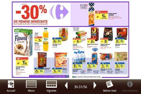 Carrefour Catalogue Android Informer: Screenshots
