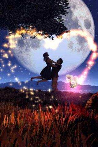 Love couple Live Wallpaper Apk : Lovers at night - Android Informer. Great Live Wallpaper Bring Pure & Romantic Love for Android ...