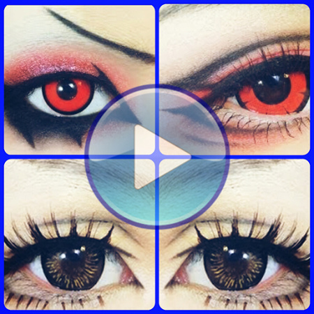 Как сделать глаза как у аниме - Myapad.ru