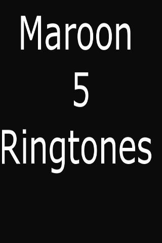 Maroon 5 рингтоны скачать бесплатно