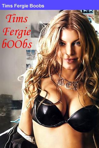 Fergie boobs