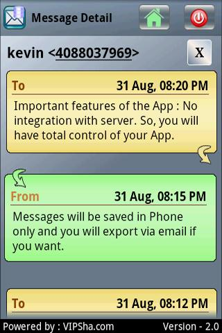 Sms tracker android