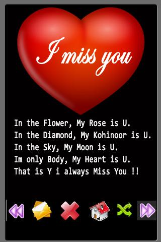 Miss U Sms Quotes Android Informer Missing Someone And