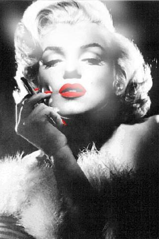 Marilyn Monroe Smoking Weed Wallpaper Download