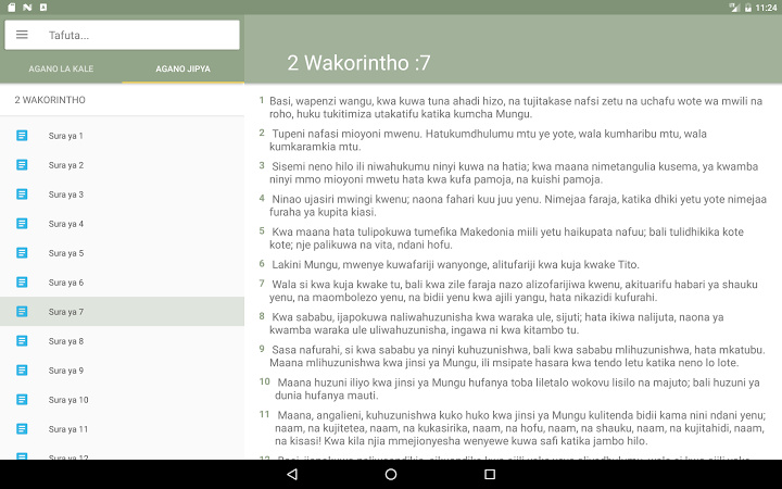Biblia Takatifu 1 3 1 For Android Download App For Free