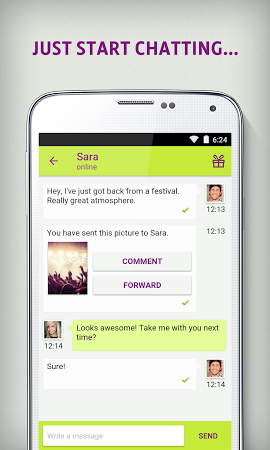 Qeep Chat, Flirt & Dating App Free Download - bluelionmobile.qeep.client. android