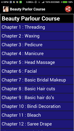 Beauty Parlour Course Free Download - dondu beautyparlourcourse