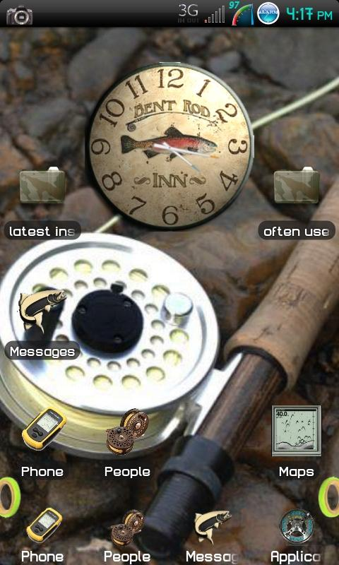 Fly Fishing Theme Free Download