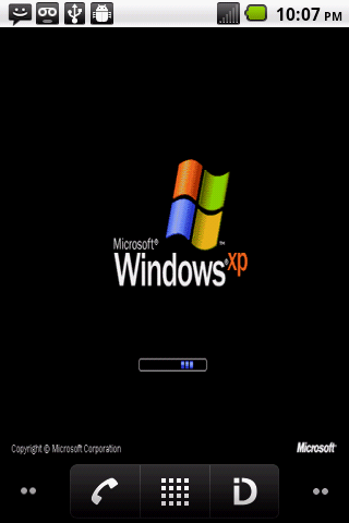 Windows XP Boot Screen Live Wallpaper Free Download   Havok.winxpboot.lwp