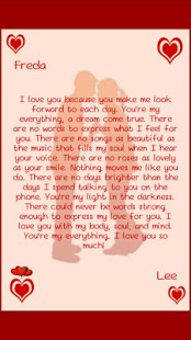 romantic love letters october 21 2014