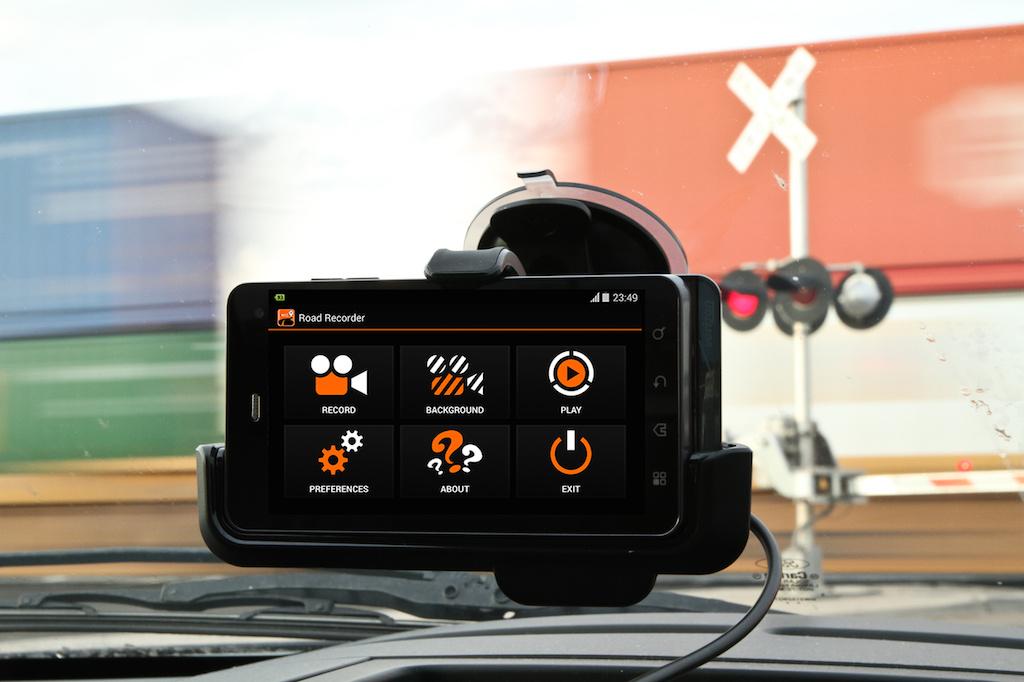 зеркало регистратор с камерой заднего вида на андроиде