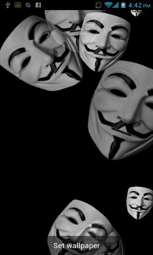 Anonymous Live Wallpaper Free Download Badcompanyapps Anonymous