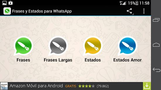 Estados Y Frases Para Whatsapp Apk для Android скачать