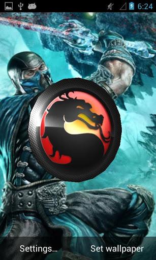 Mortal Kombat 3D LiveWallpaper Free Download