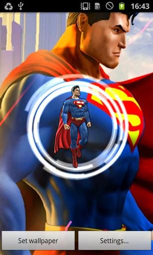 Superman Live Wallpaper December 2 2012