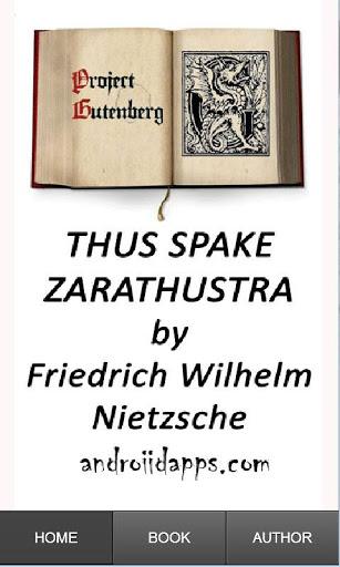 book report thus spoke zarathustra essay