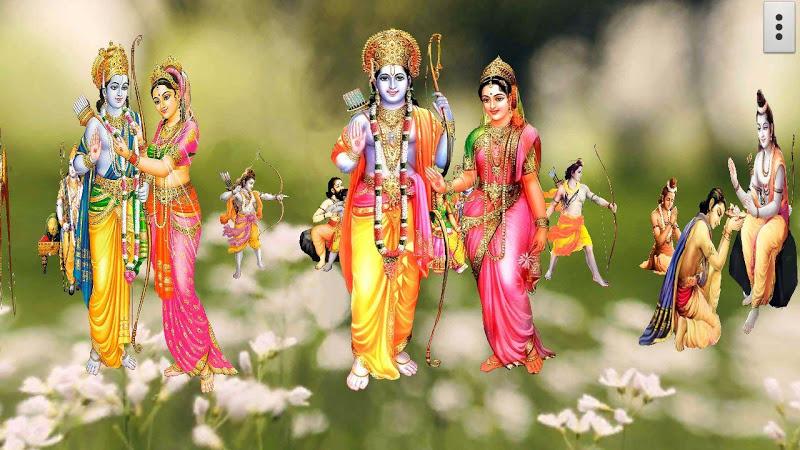 4d Shri Rama शर रम दरबर Live Wallpaper 20 For