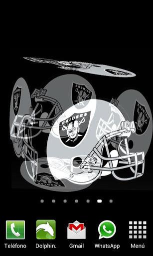 3D Oakland Raiders Live Wallpaper May 10 2013
