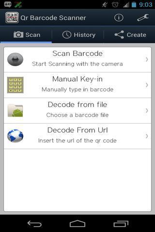 qr barcode scanner ad free kostenlos herunterladen. Black Bedroom Furniture Sets. Home Design Ideas