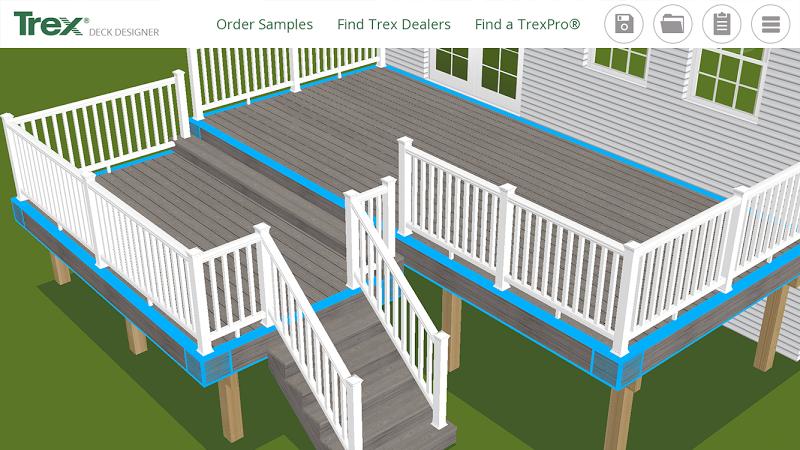 Trex deck designer free download for Deck designer free