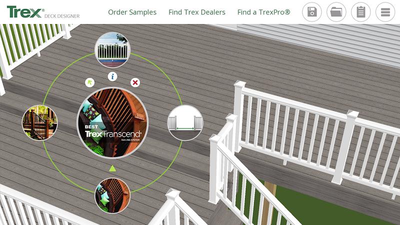 Trex deck designer free download for Deck design tool online